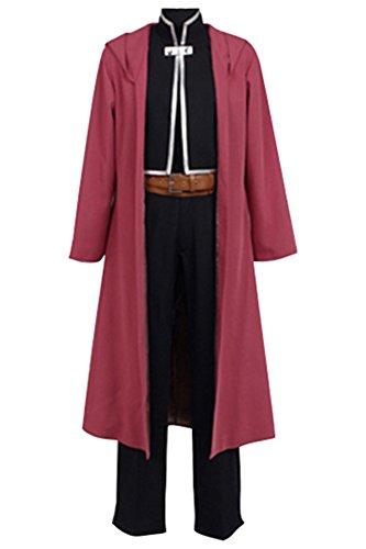 Kostüm Fullmetal Cosplay Alchemist - FullMetal Alchemist Edward Elric Cosplay Kostüm Herren S