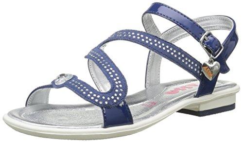 ASSO40630 - Sandali Bambina , Blu (Bleu (Ming)), 32