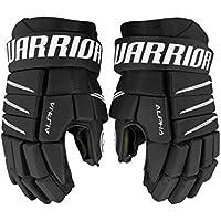 Warrior Junior Alpha QX5guantes, color negro, tamaño 10