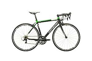 Corratec Corones 105 soft black matt/neon green/white Rahmengröße 54 cm 2016 Rennrad