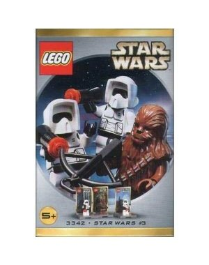 LEGO-LEGO-Star-Wars-Figure-Set-Chewbacca-2-Biker-Scouts-3342-parallel-import-goods-japan-import