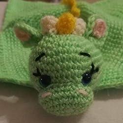 Pasión Amigurumi Dragón para bebé