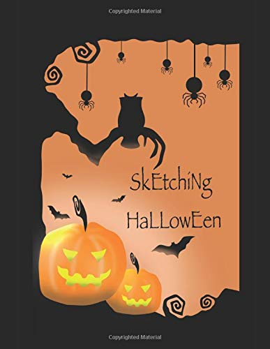 32 ideas to draw for a spooktastic Halloween - sketchbook fun ()
