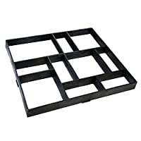 ‏‪Garden Park Pavement Paving Concrete Mold Stepping Driveway Path Stone Mould Garden Decoration‬‏