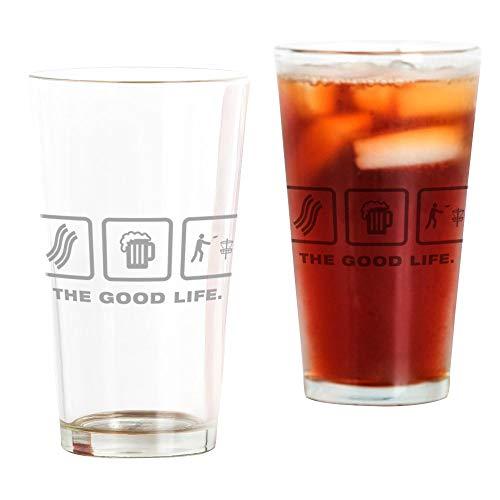 Glas, 473 ml Trinkglas durchsichtig ()