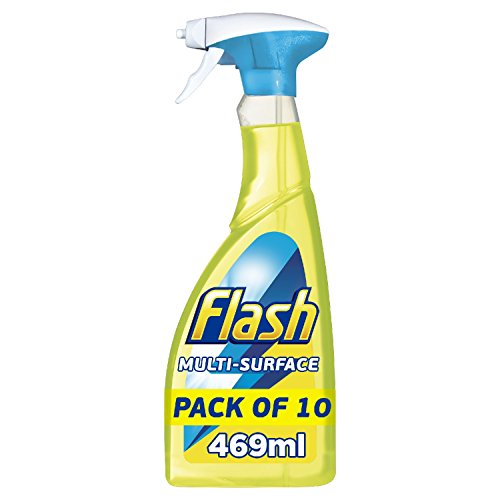 flash-lemon-multi-purpose-cleaning-spray-for-hard-surfaces-469-ml-pack-of-10