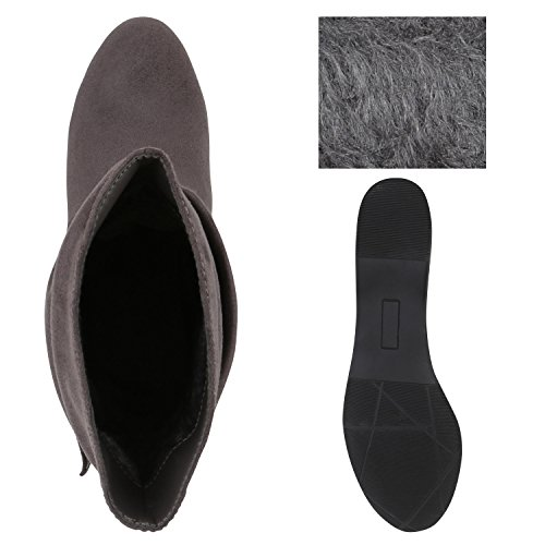 Alinhada Cinza Boots Letten Ankle Belt Profundas Deslizamento Senhoras Das pAqAxw