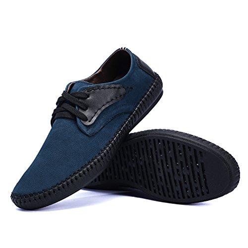 Ne. bomrvii hommes Confort de large 3couleurs en nubuck Taille 5–11 Bleu - bleu
