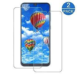MMZZ A50 Panzerglas [2 Stück] 9H Härte [Anti-Kratzen] Anti-Fingerabdruck Panzerglasfolie für Samsung Galaxy A50 Panzerglas Screen Protector