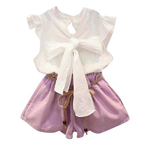 c23193876 Juego de ropa para niñas de squarex, 2 piezas, camiseta y pantalones cortos.  febrero 7, 2019. item image. ¡Comprar en Amazon!