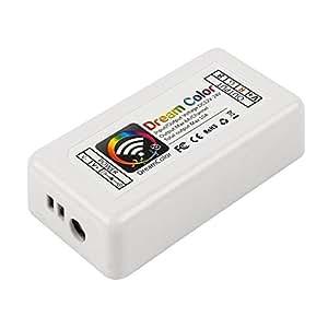 Lagute LW-12 Module Wifi de commande de barrettesLED RGB compatible avec systèmes iOS et Android
