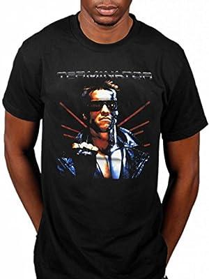 Official Terminator Terminated T-Shirt Poster Movie Film Arnold Schwarzenegger Action