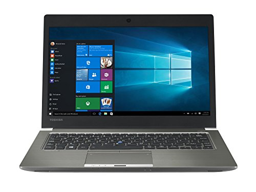 TOSHIBA Portege Z30-C-190 Laptop (Intel Core i5-6200U, 33,8cm 13,3Zoll Full-HD entspiegelt, 8GB RAM, 256GB SSD, WLAN, Bluetooth 4.0, LTE, Windows 7+10 Pro) grau