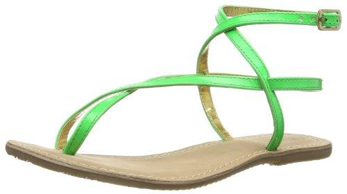Ilse Jacobsen - Sandali flache Damen Sandale, URBAN64, Größe 41, 422 Sunny Lime, Donna, Verde (Grün (Spring Bouquet 472)), 36