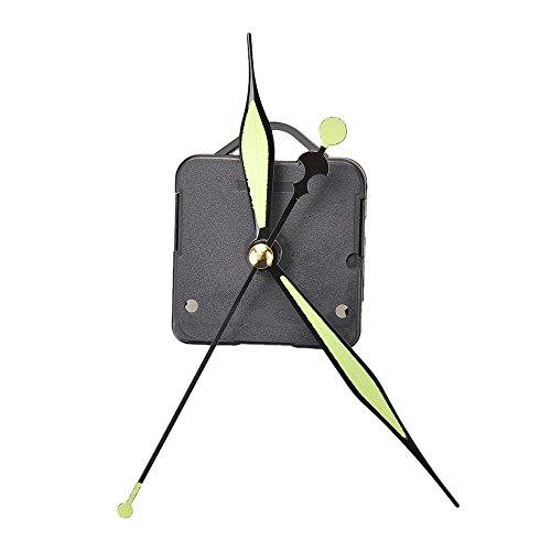Ionlyou Quarzuhr Movement Mechanism Teile Werkzeug-Set mit Leuchtzeigern Uhr Bausatz