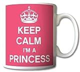 Keep Calm I'm A Princess Mug Cup Gift Retro by GreatDeals4you