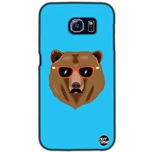 Designer Samsung Galaxy S6 G9200 Mobile Case Cover Nutcase-Hipster Bear