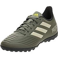 adidas Predator TAN 19.4 Turf Boots Men's Soccer Shoes, Green, 8.5 UK (42 2/3 EU)