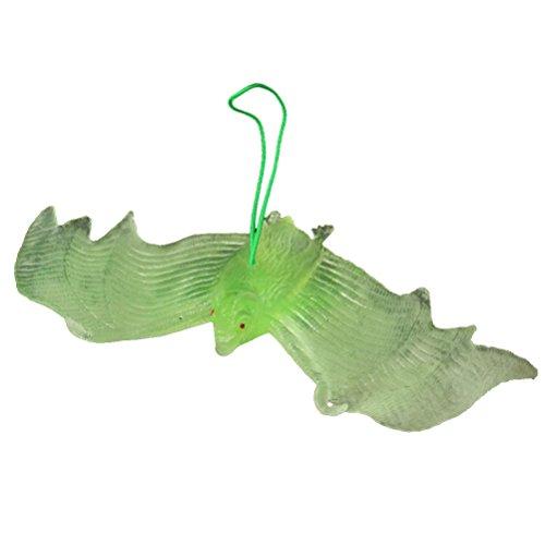 ledermaus Kleine Hängende Fledermäuse Dekoration Spielzeug für Halloween Party Dekoration, Weihnachten Geburtstagsgeschenk für Kinder ()