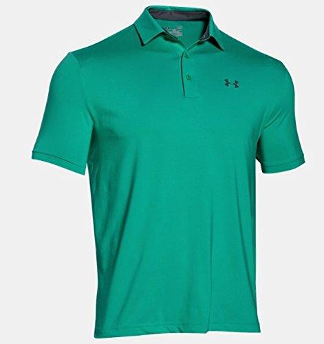 Under Armour Herren Playoff Polo Golf - Polos & T-Shirts, Green Malachite, M