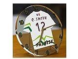 Top 14Rugby Francia–Ligue Nationale Rugby reloj de mesa de escritorio–cualquier nombre y número–Marca nuevo acrílico diseño de camiseta., Section Paloise Top 14 France Rugby Union Desktop Clock