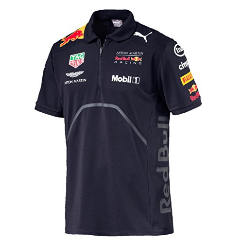 Whybee 2018 Aston Martin Red Bull Racing F1 Formula One Official Puma  Clothing avec T- 12a510388e