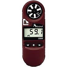 Kestrel 3000 Pocket Weather Meter / Heat Stress Monitor, Red