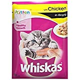 Whiskas Wet Meal Kitten Cat Food, Chicken In Gravy, 85 G (pack Of 5)