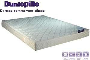 Matelas Dunlopillo Mousse 28kg/m3 140x190 ferme, 16 cm, Someya