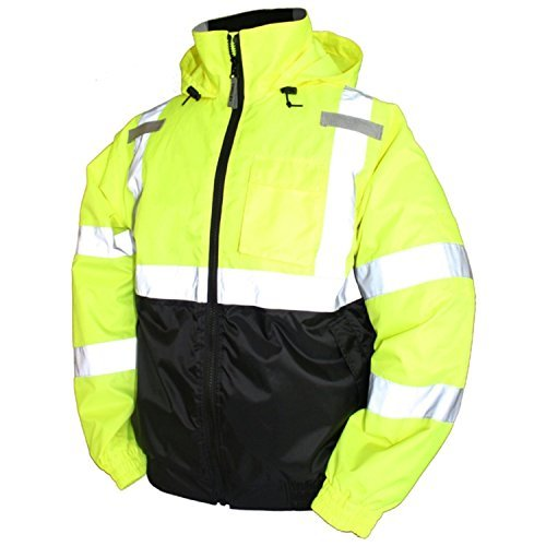Tingley Rubber Bomber II Jacket, (2-XLarge) Lime Green by TINGLEY
