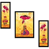 "PAF Flower Paintings||Floral Wall Decor||Floral Wall Decals||Floral Wall Hangings||Floral Home Decor||Floral Gift Items|| Exclusive Framed Wall Art Paintings For Living Room And Bedroom. PAF Pooja Art ""N"" Frame Exclusive Framed Wall Art Painting"