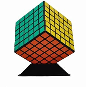ShengShou 6x6 7cm Speed Cube Black Twisty Magic Puzzle 6x6x6