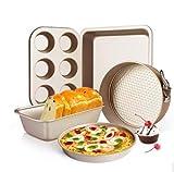 Backform Set 5 Stück Honeycomb Backset Backofen Haus Backen Kuchen Gebäck Kekse Pizza