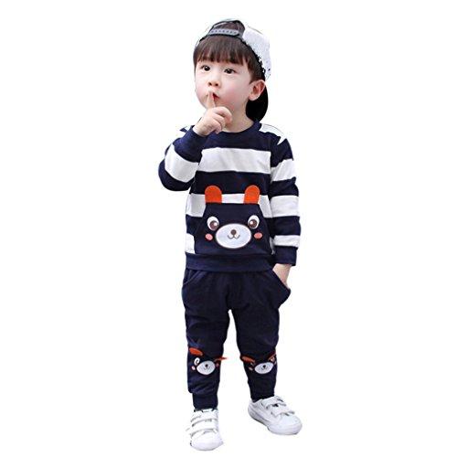 1946b34d5 Ropa bebé, Amlaiworld Otoño invierno bebé niña niño ropa conjunto ...