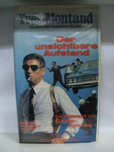 Bild von Der unsichtbare Aufstand [VHS]