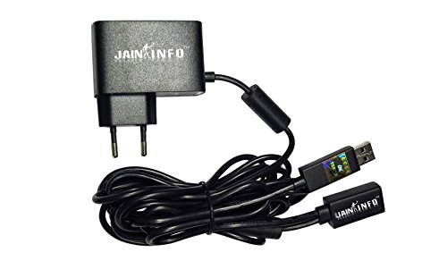 Jain Info™ Branded Power Supply Adapter for X-box 360 Kinect Sensor - - Compatible with X-box 360 Core, Pro, Elite, Arcade, Slim & E Consoles. Generic
