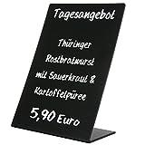 KDS Tischaufsteller Oban PVC Kreidetafel Preisaufsteller A6