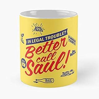 Better Call Saul University Of American Samoa Law School College Seal Emblem - Best 11 Ounce Ceramic Coffee Mug Gift