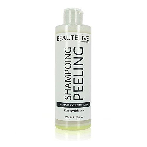 Beautélive Beautélive Expert, Peeling, Shampoing exfoliant 250ml, Shampoing cheveux gras Zinc Pyrithione, Shampoing Purifiant