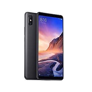 "Xiaomi Mi MAX 3 - Smartphone de 6.9"" (4G, Octa-Core Snapdragon 636, RAM de 4 GB, Memoria de 64 GB, cámara Dual de 12+5 MP, Android) Color Negro"