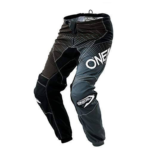 0108-134 - Oneal Element 2018 Racewear Motocross Hose 34 schwarz grau