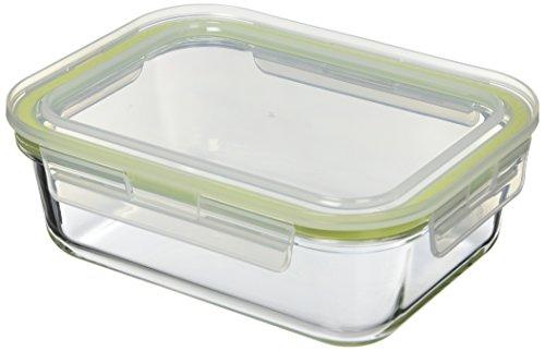 KOMAX A-1034 caja de almacenaje para horno Rectangular 1520 ml cristal de  borosilicato