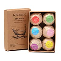 Bath Bombs Bubble Fragrance Gift Set Rose Green Tea Ocean Lavender Lemon 6 pcs Sea Salts Balls High Quality Bath Fizzer Sets