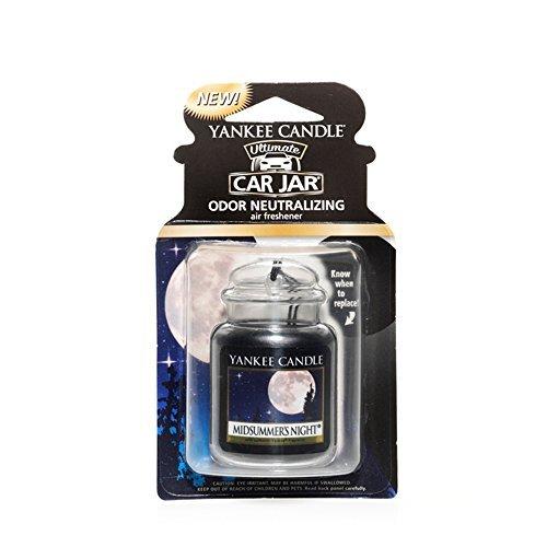 Yankee Candle Car Jar Ultimate Single, Midsummers Night, Autoduft, Duft Aufhänger, Raum Erfrischer Gel, 1220877E