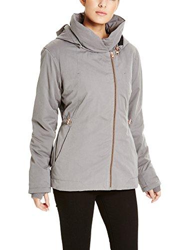 Bench Damen Daunenjacke Jacke TO - THE - POINT, Gr. 40 (Herstellergröße: L), Grau (Dark Grey GY149)