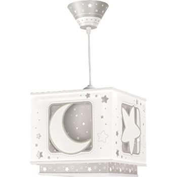 Dalber fluorescent moon and star lampshade grey amazon baby dalber fluorescent moon and star lampshade grey mozeypictures Gallery