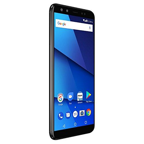 """BLU Vivo X - Smartphone de 6"""" (RAM de 4 GB, Memoria Interna DE 64 GB, Micro SD hasta 64 GB, Cámara DE 13 MP, Android) Color Negro"""