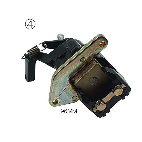 Angela shops Bremssattelauflagen für Hinterräder für Yamaha ATV Warrior Banshee Blaster Raptor 200 250 350 660 1987-2006 (Farbe : Model D) -