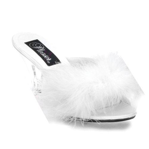 PleaserUSA pantolettes Belle-301F Blanc