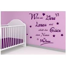 suchergebnis auf amazon.de für: wandsprüche kinderzimmer - Kinderzimmer Wandtattoo Junge Aufkleber Lieben